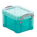Box Really useful Boxes, Kunststoff, transparent aqua