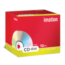 Imation CD rewritable opnamesnelheid: 4x - 12x