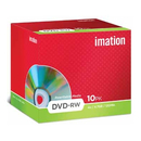 Imation DVD rewritable DVD- RW, pak van 10 stuks (Jewel Case)