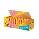 Post It notes 21 gassorteerde blokken + 3 gratis